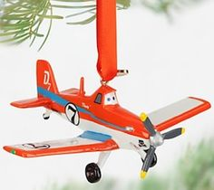 Planes Dusty Crophopper Christmas Ornament