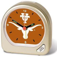 Texas Longhorns Official NCAA Desk Clock by Wincraft - Walmart.com