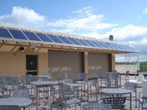 Moonrise Hotel Solar Awning Rooftop Terrace