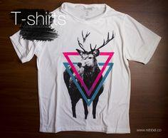 T - Shirt Venado Ref 002C www.rebbel.co