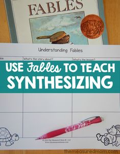 Welcome back to our 10-week Reading Comprehension Series. Can you believe that we're on week 9 today?!? Me neither! If you've missed any of the lessons or would like to read the background for this series, I encourage you to read my introductory post. Today, The Measured Mom is demonstrating a FABULOUS lesson on synthesizing. …