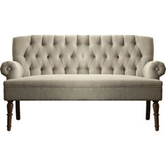 You'll love the Hermosa Tufted Upholstered Settee at Wayfair - Great Deals on all Furniture  products with Free Shipping on most stuff, even the big stuff.