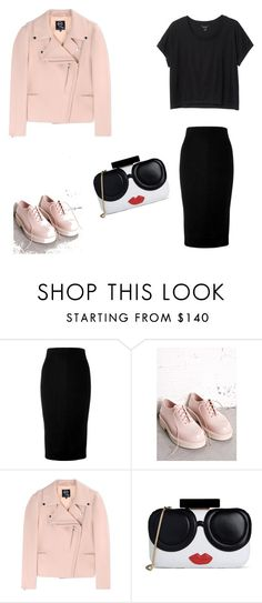 """""""Cute"""" by lgosudareva on Polyvore featuring Victoria Beckham, Melissa, McQ by Alexander McQueen and Alice + Olivia"""