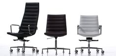 Key by EmmeGi. It is a versatile office chair that furnishes workspaces and work environments intended for different uses: offices, contract and residential