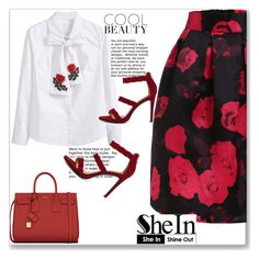"""SheIn 10"" by emina-turic ❤ liked on Polyvore featuring Yves Saint Laurent"
