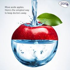 Drinking clean and safe water is one of the easiest way to keep infections at bay. Ensure you do this by signing up for a free home demo today: Ro Water Purifier, Simple Way, Drinking, Apple, Free, Apple Fruit, Beverage, Drink, Drinks