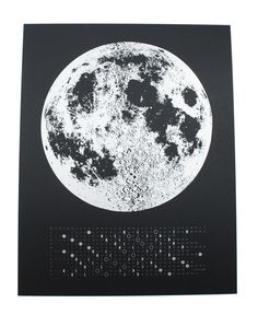 With the Moon Phase Calender you can now keep track of the day and Moon Phases.