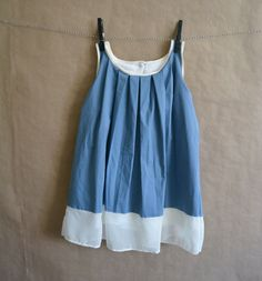Puddle Jumper Pleated Dress by CauliflowerKids on Etsy