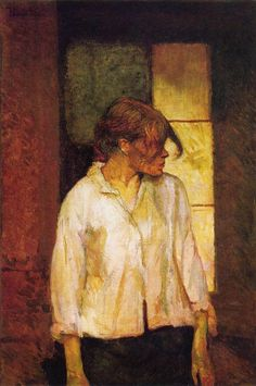 """Carmem Gaudin"" - Henri de Toulouse-Lautrec - pintor francês (1864-1901)"