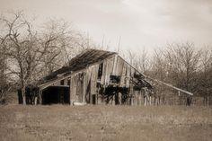Old Barn in Windom, Texas