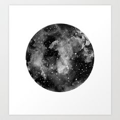 Another+moon+Art+Print+by+Dominikaa+-+$20.00