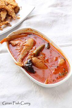 Goan Fish Curry - Mandeli Curry - Flavors of Mumbai