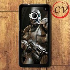 Star Wars HTC One M7 Black Case