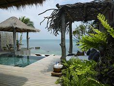 Belleza extraordinaria situada en el Golfo de Tailandia