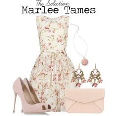 Marlee Tames by charlizard on Polyvore featuring polyvore fashion style RED Valentino Giuseppe Zanotti Fendi Betsey Johnson House of Harlow 1960 books theselection harperteen