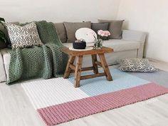 Carpets For Living Room Urban Outfitters - - Round Carpets Scandinavian - - Shag Carpet, Diy Carpet, Modern Carpet, Modern Rugs, Yellow Carpet, White Carpet, Patterned Carpet, Crochet Carpet, Crochet Home