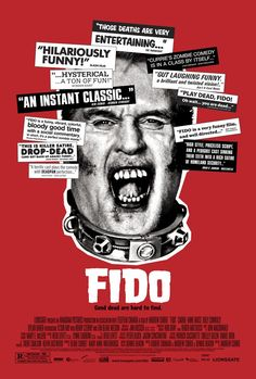 Fido , starring Kesun Loder, Billy Connolly, Carrie-Anne Moss, Jan Skorzewski. Timmy Robinson's best friend in the whole wide world is a six-foot tall rotting zombie named Fido. But when FIDO eats the next-door neighbor... #Comedy #Drama #Horror #Romance