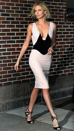 Charlize Theron in Antonio Berardi