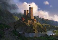 gameraddictions: artist: Lee Bset 1 - Dungeon Inspiration