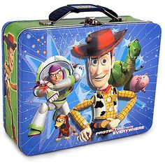 toy story tin lunch box