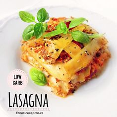 Cuketové lasagne Sugar Free Recipes, Vegan Recipes, Low Carb Lasagna, Raw Vegan, Pineapple, Gluten Free, Favorite Recipes, Lunch, Menu