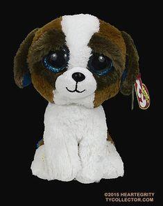 Duke - dog - Ty Beanie Boos Large Eyes b29296895a12