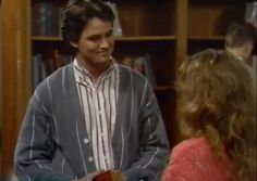 Chandler was on growing pains before friends