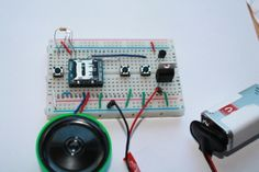 MP3 mode circuit using WTV020SD-16P- www.buildcircuit.com