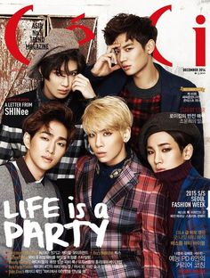 SHINee ♡ ceci Cover December 2014 ♡ 14.11.14 ☆