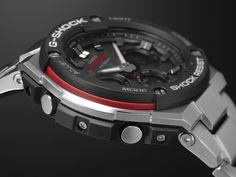 A Refined Timepiece for the Active Gentleman seeking G-SHOCK's! #GSteel #NewLaunch