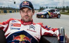 Sebastien Loeb and his Citroen DS3 WRC.