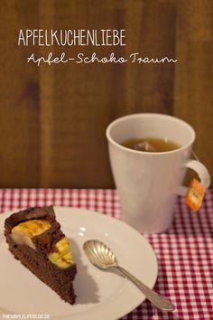 the simple life //  Schokoladiger Apfelkuchen Traum