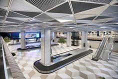 Image 7 of 18 from gallery of Heydar Aliyev International Airport Baku  /  Autoban. Photograph by Kerem Sanliman
