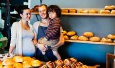 Nettle and Knead owners James and Katharine with their growing family- InDaily Adelaide