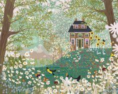 peonyandbee: 'Garden Dream' - Joy LaForme