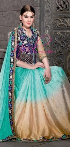 http://www.nool.co.in/product/sarees/nool-saree-cyan-crepe-synthetic-jacquard-heavy-designer-blouse-lace-sf2866d14144