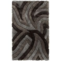 FREE SHIPPING! Shop Wayfair for Chandra Rugs Filix Black/Gray Area Rug - Great Deals on all Decor products with the best selection to choose from!