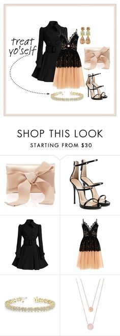 """Treat Yo'self; Don't Mind If I Do!"" by aharcaki ❤ liked on Polyvore featuring Oscar de la Renta, Giuseppe Zanotti, True Decadence, Allurez and Michael Kors"