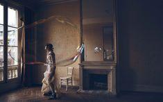 Steffy Argelich, Aya Jones, Polina Oganicheva, Steph Smith by Vincent van de Wijngaard for Vogue UK April 2016