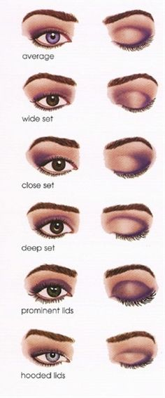 Eye makeup techniques - Click image to find more Hair & Beauty Pinterest pins!