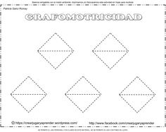 fichas de grafomotricidad con figuras prediseñadas 41-50-1