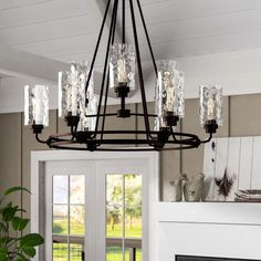 Foyer Chandelier, Rectangle Chandelier, Wagon Wheel Chandelier, Chandelier Shades, Chandelier Lighting, Chandeliers, Kitchen Chandelier, Vanity Lighting, Pendant Lights
