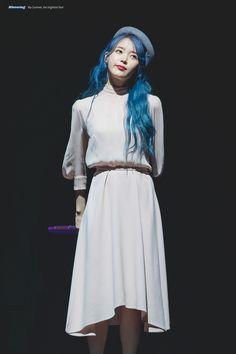191116 Love, Poem Concert in Busan Cr: Bluewing, Iu Fashion, Korean Fashion, Fashion Outfits, Kpop Girl Groups, Kpop Girls, K Idol, Korean Celebrities, Korean Actresses, Korean Singer