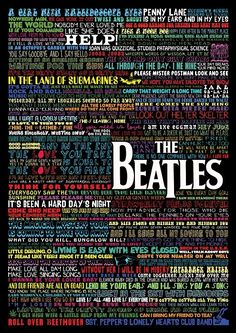 THE BEATLES...and now i wanna go listen to everyone of these...