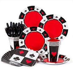 Casino Party Decorations, Supplies and Ideas | WholesalePartySupplies.com