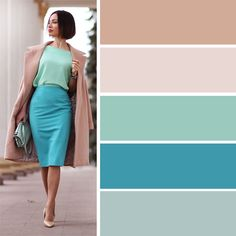 Spring 2016 color combinations for clothes, fashion color combinations, . Colour Combinations Fashion, Color Combinations For Clothes, Fashion Colours, Colorful Fashion, Color Combos, Fashion Mode, Fashion Outfits, Mode Bcbg, Cooler Look