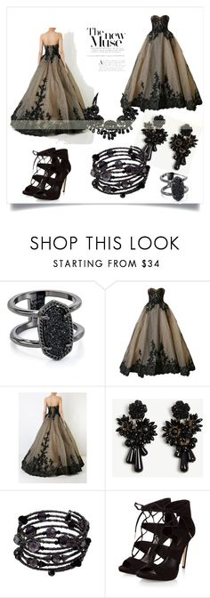 """""""Happy Endings Bore Me"""" by mgroleplay on Polyvore featuring Kendra Scott, Mikael D, Ann Taylor and 1928"""
