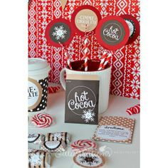 Hot Cocoa Bar Printable Collection - JW Illustrations