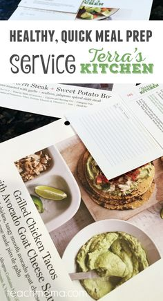 healthy, quick meal prep service for busy families: Terra's Kitchen | meal prep | healthy cooking | subscription service | #terraskitchen #tkway teachmama