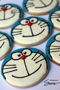 Galletas Doraemon